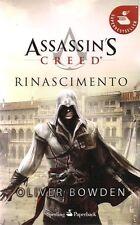 ASSASSIN'S CREED VOLUME 1: RINASCIMENTO EDIZIONE SPERLING PAPERBACK
