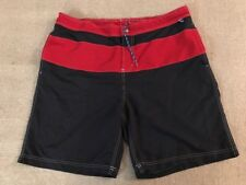 Lands End Men's Polyester Board Shorts Size XL 40-42 Excellent Condition #C1