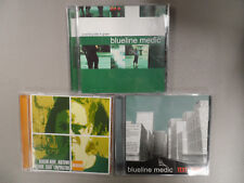 Blueline Medic 3 CD Lot - A Working Title in Green / Text Bomb / Midtown Recover