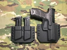 Black Kydex  H&K HK VP9 w/Mag Carrier