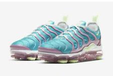 Women Nike Air Vapormax Plus Running Shoes White Volt Comfort CW7014-100 Size 7