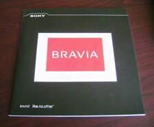 Catalogo Sony bravia theatre depliant brochure tv dvd home cinema audio surround