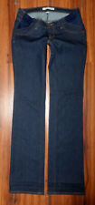 NEW J BRAND MAMA J MATERNITY POLISH STRAIGHT LEG DARK BLUE JEANS SIZE 25X35