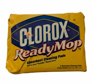 "Clorox Ready Mop Absorbent Cleaning Pads 8.5"" x 10.5"" - 8 ct."