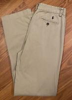 Polo Ralph Lauren Boys Pants Size 18 Khaki Chino Pants Dress Pant