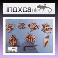 100 KIT TORX STAINLESS STEEL CSK WOOD SCREWS SCREW A2 + TX20 L KEY & T20 HEX BIT