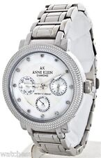 ANNE KLEIN WOMEN'S DIAMOND COLLECTION MOTHER OF PEAR  WATCH 10-8753MPSV