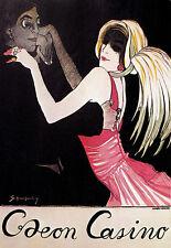 Art Poster - Caeon Casino - German - Deco - Dance A3 Print