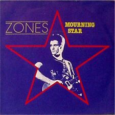 "ZONES 'MOURNING STAR' UK PICTURE SLEEVE 7"" SINGLE"