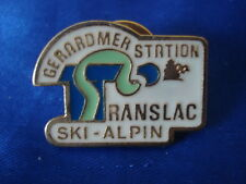 PINS RARE GERARDMER STATION TRANSLAC SKI ALPIN VOSGES LORRAINE