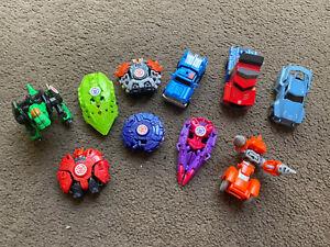 Job Lot of Mini Transformers Transformer Figures Optimus Tranformer Robots