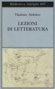LEZIONI DI LETTERATURA  - NABOKOV VLADIMIR, UPDIKE JOHN (INTRO) - Adelphi