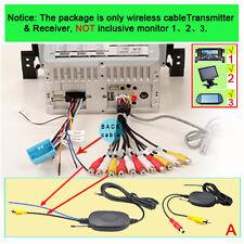 Funk Sender+Empfänger Kamera Wireless Rückfahrkamera Monitor 2,4GHz Navigation