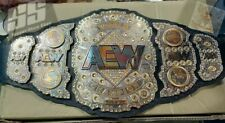 AEW World Heavyweight Championship wrestling leather Belt