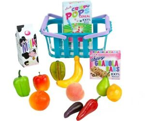 "Grocery Basket And Food 14pc Set for American Girl 18"" Doll Food Accessories 🐞"