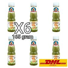 6X Thai Spicy Seafood Dipping Sauce Cuisine Chilli Lime Sour Fish BBQ 164g DHL