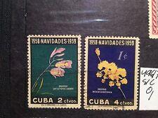 SELLOS DE LA EX COLONIA ESPAÑOLA DE CUBA.  YVERT Nº 496/7. USADOS