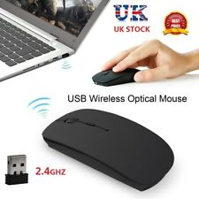 2.4G Optical Quiet Click Wireless Mouse Mice for PC Laptop Mac Macbook