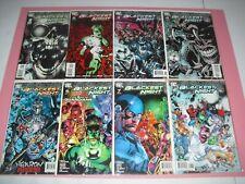 Green Lantern Blackest Night 1-8 complete set run all VF/NM! 2009 2 3 4 5 6 7 DC