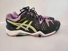 ASICS New(Other) GEL RESOLUTION Women's Shoes PURPLE & BLACK Size 8 E550Y