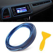 Blue Universal 5M Car Styling Moulding Decorative Filler Strip Interior Exterior
