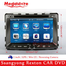 "7"" GPS Nav Car CD DVD Player For Ssangyong Rexton 2006-2009"