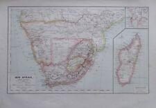Karte aus 1889 - Süd Afrika - alte Landkarte old map