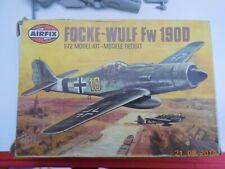 1/72 VINTAGE AIRFIX - FOCKE WULF FW190D GERMAN WW2 PLANE MODEL KIT 9 61064