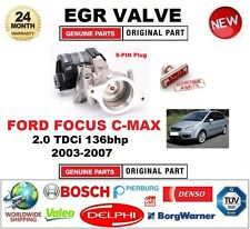 Per Focus C-MAX 2.0 TDCi 136bhp 2003-2007 5-PIN Elettrico Valvola EGR con Guarnizioni