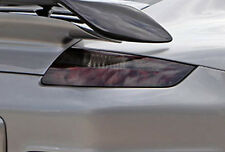 2005-2008 Porsche 911 vinyl tail light covers tints smoked 2 precut pieces wrap