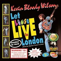 KEVIN BLOODY WILSON (2 CD) LET LOOSE LIVE IN LONDON ~ AUSTRALIAN COMEDY *NEW*