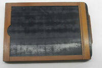 "5x7"" Century Dry Plate Glass Film Holder Wood OD 14x150x207mm - USED LF221"