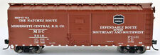 Bowser HO Scale 40' Boxcar - Mississippi Central RR Co. #5028
