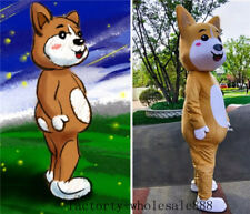 Husky Dog Mascot Costume Suits Animal Dress Adults Birthday Party Advertising