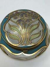 Jugenstil Antique Box 1900 Bonbonnière Art Nouveau Verre Antique French
