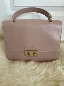 NWT Furla Small Top Handle Saffiano Leather Cross Body Bag $448