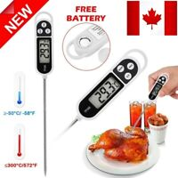 Digital Cooking Thermometer For Meat Water Milk Food Kitchen Instant Read Probe