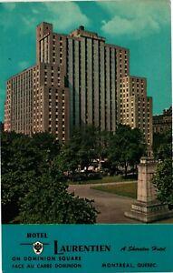 Vintage Postcard - Le Laurentein A Sheraton Hotel 1000 Rooms Quebec Canada #8505