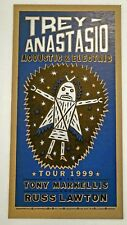 Trey Anastasio Spring Tour 1999 BLUE Phish Poster Print Yee Haw 1st press