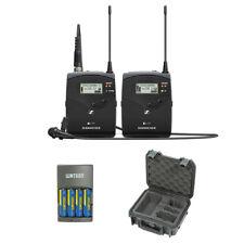 Sennheiser ew 112P G4 Wireless Mic System w/ 2-II Lavalier Mic, System Case Kit
