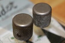 FENDER RELIC AGED PURE VINTAGE AMERICAN 58' TELE KNOBS 0094057049 SET OF 2