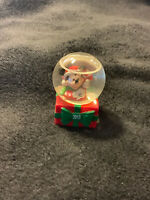 DISNEY MICKEY MOUSE MINI COLLECTIBLE SNOW GLOBE 2013 JC PENNEY NEW IN BOX