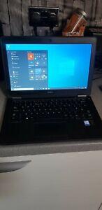 DELL LATITUDE E7250 MSATA 8GB RAM GOOD BATTERY SERVICED FAST LITTLE LAPTOP