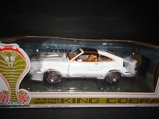 Greenlight Ford Mustang II King Cobra 1978 White 1/18 Limited Edition