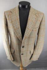 VINTAGE anni 1970 British Made AQUASCUTUM Pura Lana controllato Giacca di tweed 42 pollici