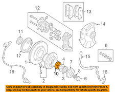 MITSUBISHI OEM 97-04 Montero Sport-Front Wheel Bearing MB092749