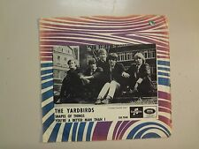 """YARDBIRDS: Shapes Of Things-You're A Better Man-U.K. 7"""" 1966 Columbia,Sweden PSL"""