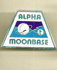 "Space:1999 Moonbase Alpha Enamel/Metal Pin- 1.75""- Free S&H (Sppi-002)"