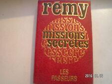 ** Rémy Missions secrètes Les passeurs Tome 2