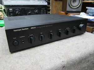 HARMAN / KARDON HK6250   INTEGRATED AMPLIFIER PHONO